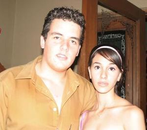 Jesús Obeso y Daniela Arreola.