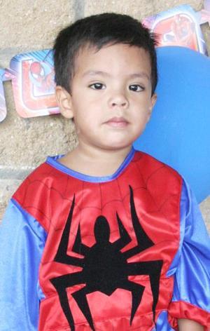 Brandom Franco Ramírez festejó su cumpleñaos con un divertido convivio infantil.