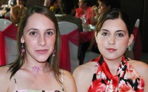 Bárbara Berlanga y Paola González.
