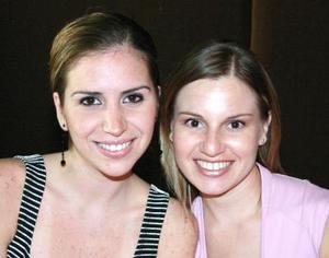 Elorsa Hernández y Silvia de Martínez.