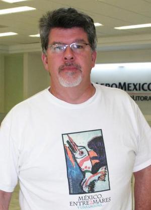<u><i> 27 de Agosto </u></i><p>   Keith Dannemiller viajó con destino a la Ciudad de México.