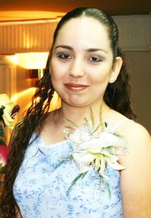 Jéssica Butanda Sánchez, captada en su despedidad de soltera.