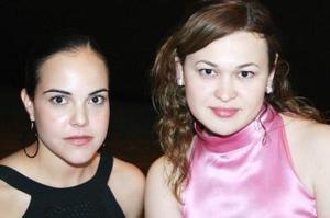 Isabel Ortiz Galán y Priscila Hernández García.