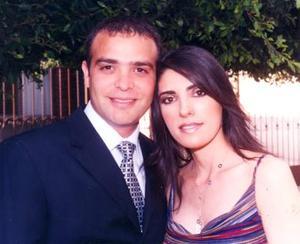 Baltazar Villarreal Mena y Cecilia Salmón Abraham.