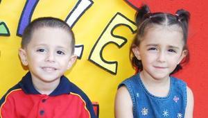 Hassan y Michelle Habib Ramírez cumplieron tres y cuatro años respectivamente y por tal motivo, fueron festejados con una divertida fiesta infantil.