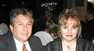 Alfonso Cárdenas y Alejandra de Cárdenas.