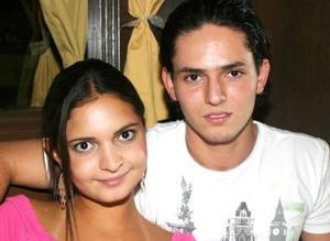 <u><i> 28 Agosto de 2004 </u></i><p>  Manuel Juan Marcos y Barby Jaidar.