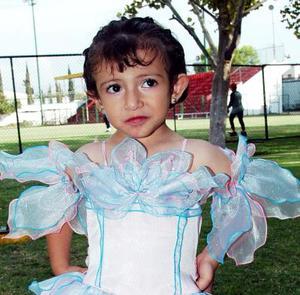 La pequeña Natalia de Ávila Delgado festejó sus tres años de vida, con un divertido convivio que le organizaron sus papás.