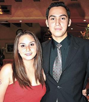 Karla Sosa y Francisco Rodríguez