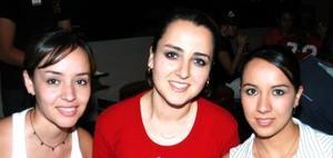 Caro de la Garza, Jéssica Ortiz y Esteysi Anaya.