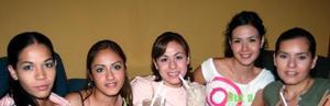 <u><i> 29 de Agosto </u></i><p>  Diana Estrada, Gabriela Chávez, Claudia Estrada, Rocío Saldaña y Zaira Padilla.