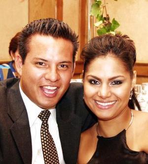 Jorge Jiménez y Adriana Barajas.