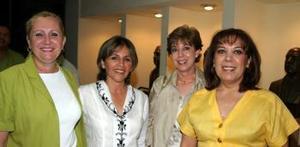 Mapi Seco de González, Tere García de Chául, Susana Rodríguez y Oli de Hernández.
