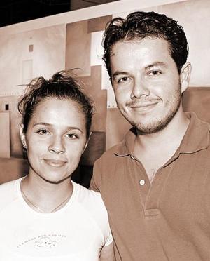 Lorena Marín y Santiago Ayala