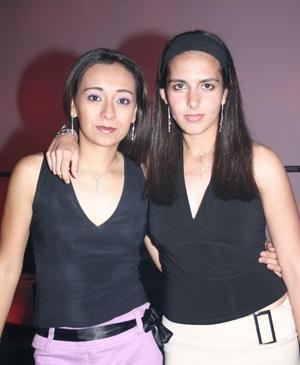 Cinthia Loza Rodríguez y Aída Bada Castro.