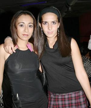 Cynthia Lozano Rodríguez y Aída Bada Castro