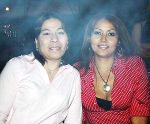 Perla Galván y Mireya Saucedo