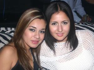 Alejandra Castañeda y Mayela Saad.