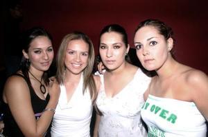 Susana Villanueva, Anna Laura Muruato, Karla Villanueva y Denisse Pacheco
