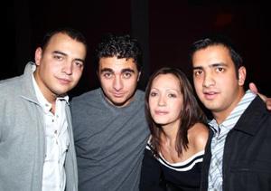 Juan Luis Gutiérrez, Daniel Ortiz, Giselle Aimeé Muñoz y Miguel Correa.