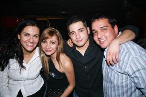 Lab Hernández, Betico Arredondo, Yazmín Arredondo y Berenice Ramonet