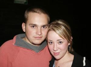 Cristóbal Hamdam y Paulina Velasco.