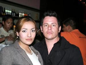 Jayme Villa y Ruby Parra.