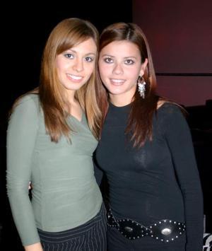 Ana Cecilia Delgadillo y Sandra Hernández Barrios.