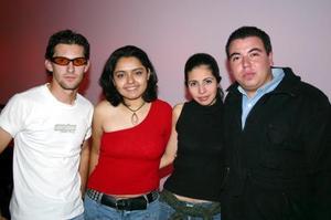 Ignacio Canalizo, Claudia Ortega, Nelly González y José Luis Leal.
