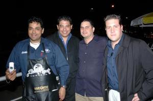 Jorge Meléndez, Gerardo Marcos , Momi González y José Chávez.
