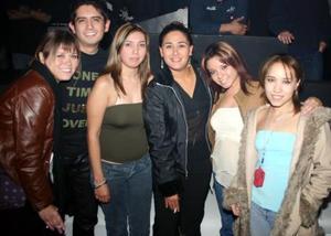 Paloma Orozco, Gil Romero,Carmina Fernández, Cecybel Mariana Muleiro y Laura.