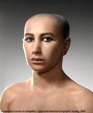 Tres equipos de científicos de Francia, Egipto y Estados Unidos reconstruyeron por primera vez el rostro de Tutankamón, el más famoso faraón egipcio.  <p> AP