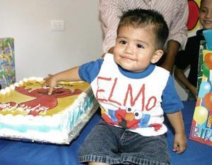 José García Hernández cumplió su primer año de vida, y lo celebró con un a divertida fiesta infantil.