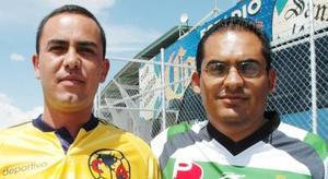 Carlos Magaña y Carlos Estrada.