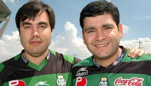 Miguel Maguerza, Óscar Santos Villarreal.