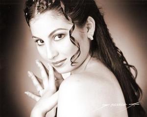 Srita.Pamela Abularach, en una fotografía de Flavio Becerra.