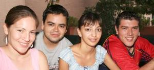 Luly Gómez, Paco Gómez, Rosa María y Julio Cueto.