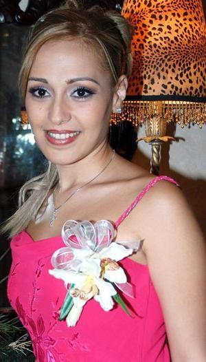 Ileana Alejandra García Ríos, en su primera despedida de soltera.