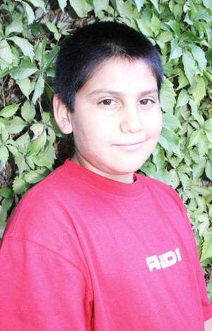 Jorge Esteban Silva Reyes cumplió 11 años de vida y los festejó con un agradable convivio.
