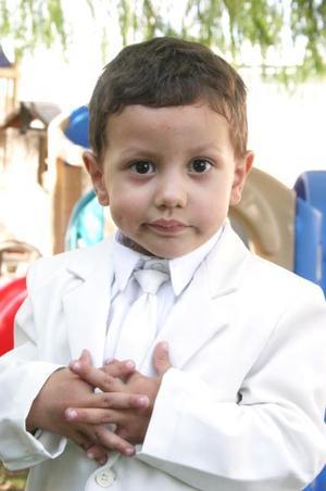 Juan Gerardo Jardón Martínez cumplió tres años y los celebró con una divertida fiesta.