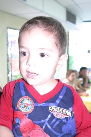 Luis Alberto Morales Vega celebró sus dos años de vida junto a sus padres, Luis Alberto y Ana Laura Morales.