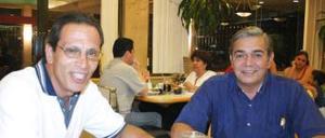 Jesús Diz y José A. López.