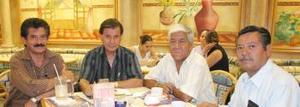 <u><i>03 de Septiembre de 2004</u></i><p>  Roberto Pérez Escareño, José Sánchez, Joel Santibáñez Rodríguez y José Abularach Ayup.
