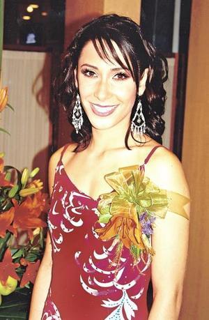 Ana Sofía Soltero Meléndez, en su despedida de soltera.