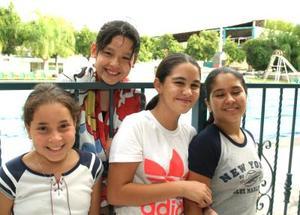 Laura Iga, Sofía Tueme, rocío Martínez y Majibeh Sabag.