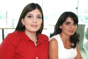<u><i> 04 de Septiembre de 2004</u></i><p>  Mónica Mitre y Mayela Hernández.