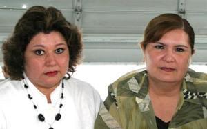Marilú de Blackeller y Diana de Triana.