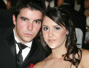 Roberto Tueme y Paulina Giacomán.