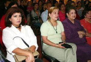 <u><i>06 de Septiembre de 2004</u></i><p>   Olivia Maury, María Luz Cabrero de González, Maruca de Cabrero y Victoria Acosta.