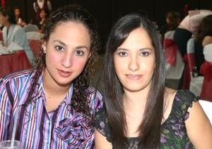Tania Manzur y Ale Aguilar.